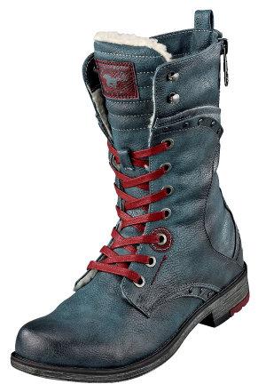 Lederstiefel zum schnüren Schuhe Große größen   Violeta by